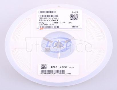 FH(Guangdong Fenghua Advanced Tech) RS-06K4320FT(100pcs)