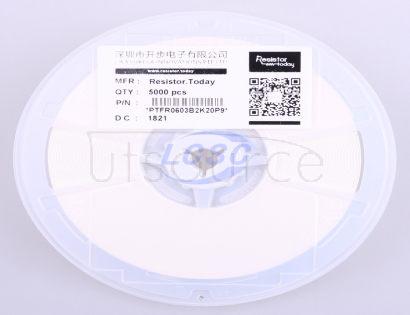 ResistorToday PTFR0603B2K20P9