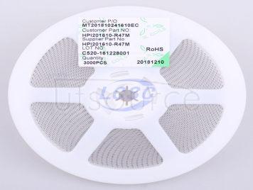 3L COILS HPI201610-R47M(5pcs)