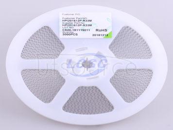 3L COILS HPI201612P-R33M(5pcs)