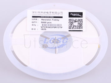 ResistorToday ETCR0603F5R10T9(50pcs)
