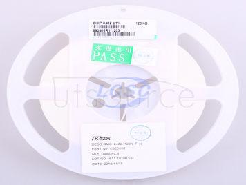 TyoHM RMC0402120K1%N(100pcs)