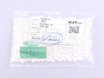CJT(Changjiang Connectors) A1255HA-3P(10pcs)
