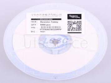 Resistor.Today PTFR0603B220RP9(10pcs)
