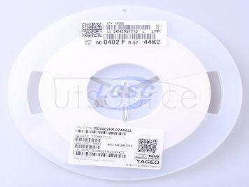 YAGEO RC0402FR-0744K2L(100pcs)