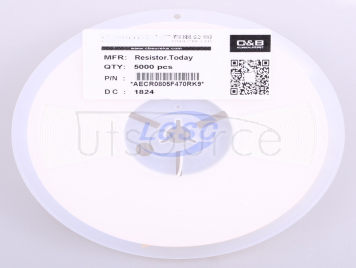 Resistor.Today AECR0805F470RK9(50pcs)