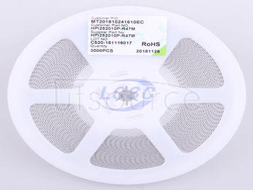 3L COILS HPI252010P-R47M(5pcs)
