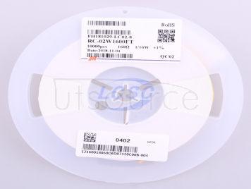 FH(Guangdong Fenghua Advanced Tech) RC-02W1600FT(100pcs)