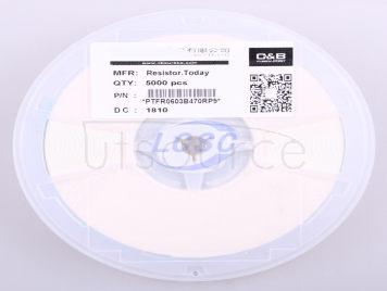 Resistor.Today PTFR0603B470RP9(10pcs)