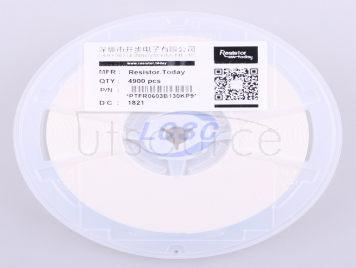 Resistor.Today PTFR0603B130KP9(10pcs)