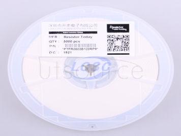 Resistor.Today PTFR0603B120RP9(10pcs)