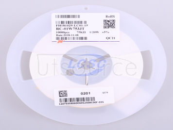 FH(Guangdong Fenghua Advanced Tech) RC-01W753JT(100pcs)