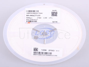 FH(Guangdong Fenghua Advanced Tech) RS-06K271JT(100pcs)