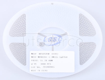 Thunder Component MELF-MFR02041/4WS35.7ΩFT50(20pcs)