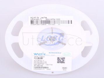Walsin Tech Corp WR04X435JTL(100pcs)