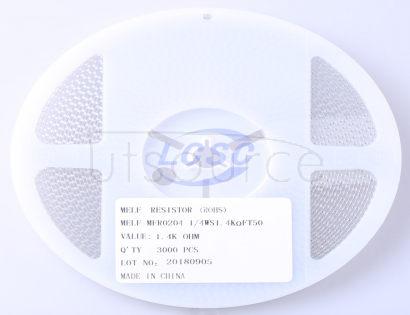 Thunder Component MELF-MFR02041/4WS1.4KΩFT50
