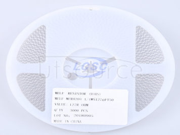 Thunder Component MELF-MFR02041/4WS127ΩFT50(20pcs)