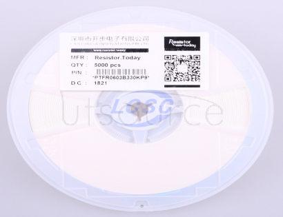 ResistorToday PTFR0603B330KP9
