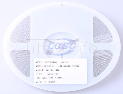 Thunder Component MELF-MFR02041/4WS620KΩFT50