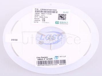 LIZ Elec CR0603FA9100G(100pcs)