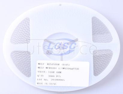 Thunder Component MELF-MFR02041/4WS316ΩFT50