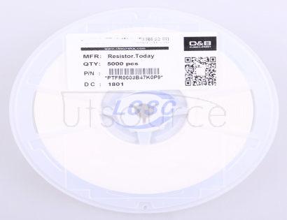 ResistorToday PTFR0603B47K0P9