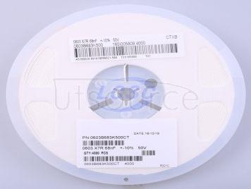 Walsin Tech Corp 0603B683K500CT(50pcs)