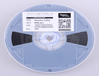 ResistorToday PTFR1206B2K00P9