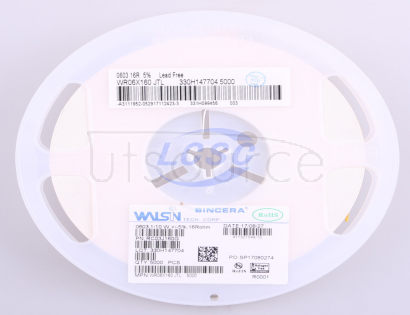 Walsin Tech Corp WR06X160JTL