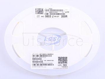 YAGEO AC0603JR-07200RL(100pcs)
