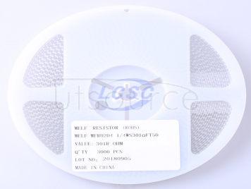 Thunder Component MELF-MFR02041/4WS301ΩFT50(20pcs)
