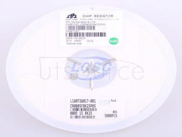 Ever Ohms Tech CR0805F8K25P05Z(50pcs)