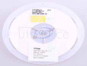 TyoHM RMC060320K1%N(100pcs)