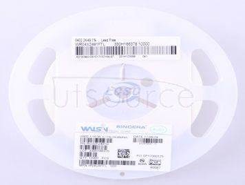 Walsin Tech Corp WR04X2491FTL(100pcs)