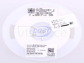 YAGEO RC0201FR-0724KL(100pcs)