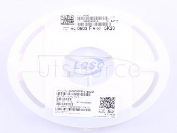 YAGEO RC0603FR-075K23L(100pcs)