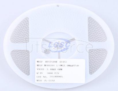 Thunder Component MELF-MFR02041/4WS3.48KΩFT50(20pcs)