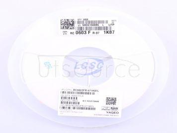 YAGEO RC0603FR-071K87L(100pcs)