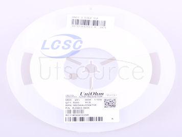 UNI-ROYAL(Uniroyal Elec) 0603WAJ0364T5E(100pcs)