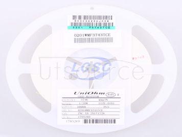 UNI-ROYAL(Uniroyal Elec) 0201WMF3743TCE(100pcs)