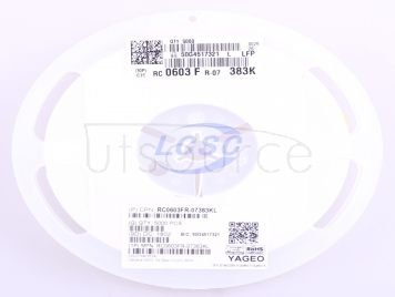 YAGEO RC0603FR-07383KL(100pcs)