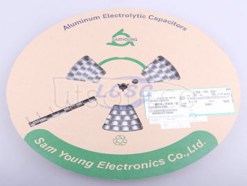 SamYoung Electronics CLZ35VC100M8*10_8.0TP
