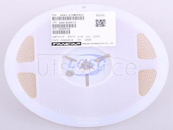 TANCAP Tech CA45-476M006AT(5pcs)