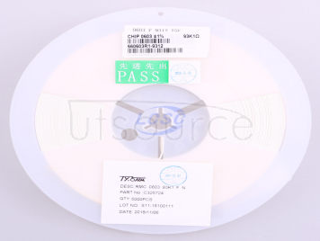 TyoHM RMC060393.1K1%N(100pcs)