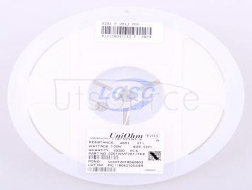 UNI-ROYAL(Uniroyal Elec) 0201WMF261JTEE(100pcs)