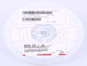 ROHM Semicon MCR03EZPJ202(50pcs)