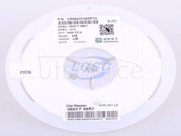 LIZ Elec CR0603FA88R7G(100pcs)