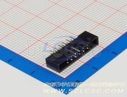 Boom Precision Elec 2.0mm 2*6P Straight IDC Box