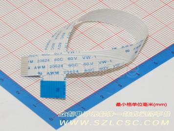LX FFCCable 10P pitch1.0mm length15CM Reverse(10pcs)