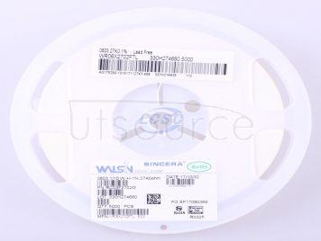 Walsin Tech Corp WR06X2702FTL(100pcs)